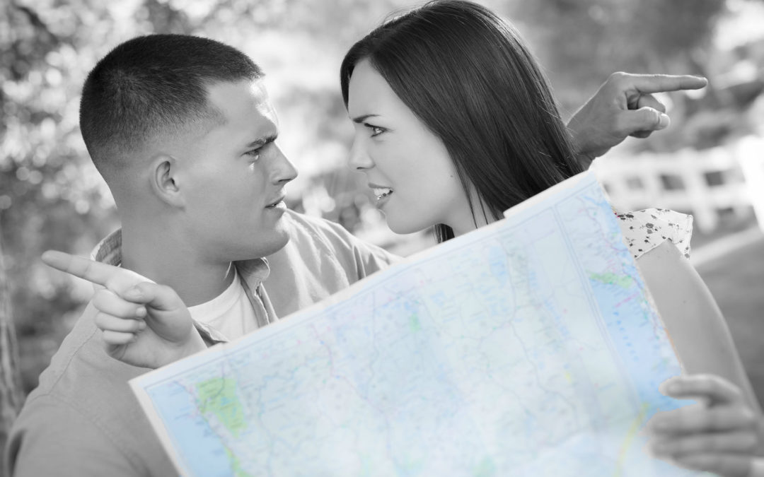 Business-Owner Couples —  Are You on the Same Map?